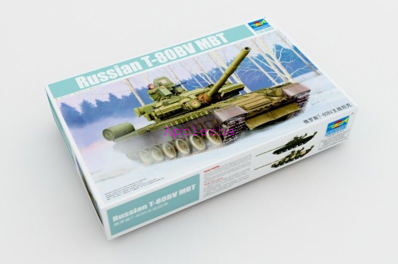 Trumpeter 05566 1 35 Russian T-80 BV MBT