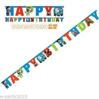 Disney Toy Story Jumbo Banner Kit W/ Custom Age Happy Birthday Party Supplies