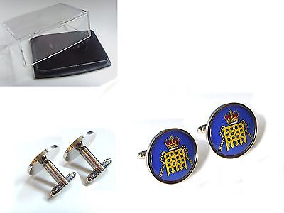 Red Ensign Militairy Australian Flag Cufflinks Tie Clip Box Gift Set