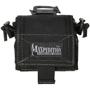 Maxpedition-0208B-Rollypoly-dump-pouch-BLACK