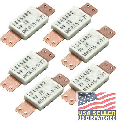 Resettable Fuses Raychem Littelfuse PPTC 77 ACT TEMP 15A HOLD 6 pieces TE