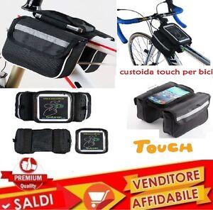 Borsa-Bici-Bicicletta-Porta-Oggetti-Custodia-Smartphone-fino-a-6-034-touch-screen