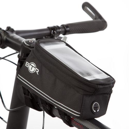 BTR Fahrradtasche Handy Fahrradhalterung Wasserabweisende Fahrradrahmentaschen