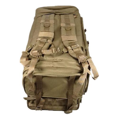 "in 26/"" 3800 cu TFBP126 TAN NexPak Tactical Duffel Range BACKPACK"