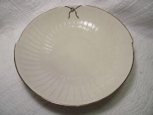 """Ethan Allen Serving Bowl Porcelain 12 1/2"""" Collector's Classics, Mint Condition"""