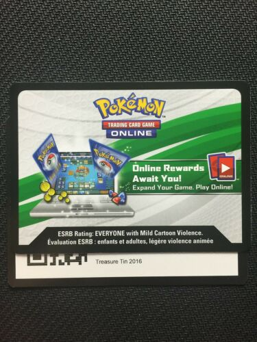 Pokemon 2016 Collector Chest TCGO Online Code Shiny Mega Gengar EX XY166