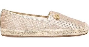 ba8129796fc Image is loading New-Michael-Kors-Kendrick-Slip-on-Espadrille-Flats-