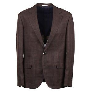 Brunello-Cucinelli-Slim-Fit-Layered-Check-Wool-Silk-Linen-Sport-Coat-42R-Eu-52