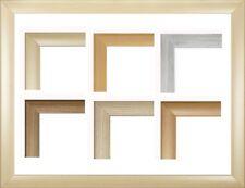 FW23 Echtholz Bilderrahmen 35 x 102 cm mit Acryl-Glas entspiegelt Massiv Holz