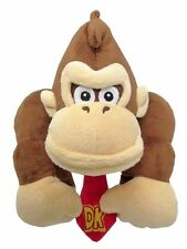 "Authentic Super Mario Bros DONKEY KONG 7 "" Plush Toy Stuffed New with Tags"