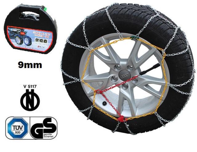 01//2004-/>12//10 CATENE DA NEVE 7MM 245//40 R18 BMW 5