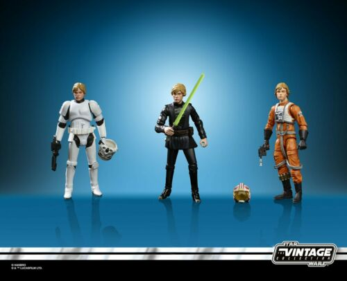 2019 SDCC EXCLUSIVE HASBRO Star Wars Luke Skywalker Jedi Destiny Set