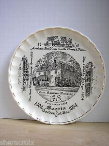 Rare Scotia Golden Jubilee Souvenir Plate 1904-1954 Village of Scotia New York