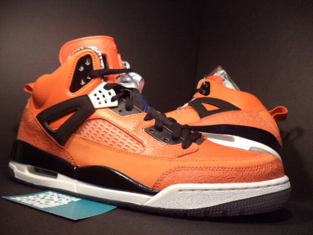 Nike Air Jordan SPIZIKE NEW YORK KNICKS orange blueE WHITE BLACK 315371-805 11.5