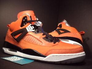 new style 32bf6 2179b Image is loading Nike-Air-Jordan-SPIZIKE-NEW-YORK-KNICKS-ORANGE-
