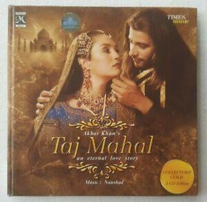 Akbar Khan's Taj Mahal An Eternal Love Story 2005 Film Soundtrack Naushad 2CD