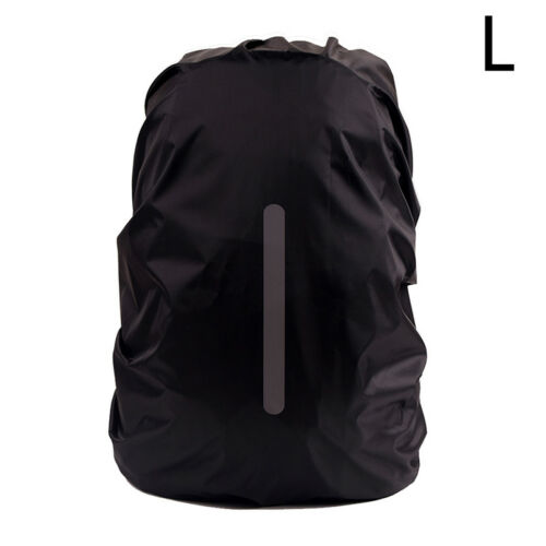 Reflective Waterproof Backpack Rain Cover Night Safety Light Raincover Case TEUS