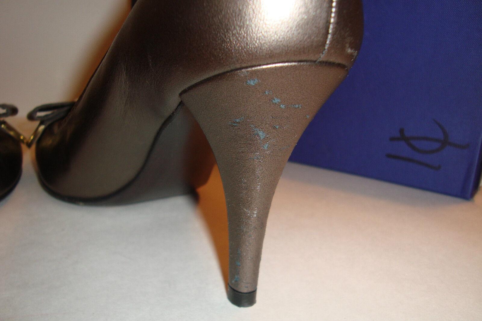 Stuart Mordore Weitzman Damenschuhe Bwana Sepia Mordore Stuart Bronze Heels Schuhes 10.5 Med Display 9cc2f2