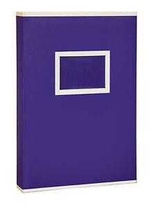 Large-Purple-Two-Tone-Memo-Slip-In-Photo-Album-300-6-x-4-Photos