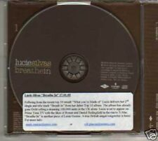 (833G) Lucie Silvas, Breathe In - 2005 DJ CD