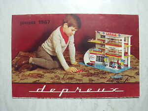 CATALOGUE  DEPREUX  1967  GARAGE  CHATEAU  FERME  EN  COPIES  COULEURS  VROOM