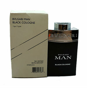 70c85816e86 BVLGARI MAN BLACK COLOGNE EAU DE TOILETTE SPRAY 100 ML 3.4 FL.OZ. (T ...