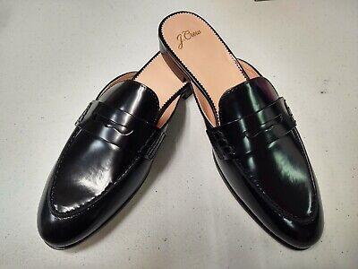 Academy Loafer Slide Black Item: J8497