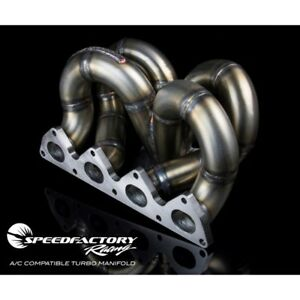 Details about Air Conditioning Compatible Turbo Manifold Acura Integra  Honda Civic Ramhorn T3