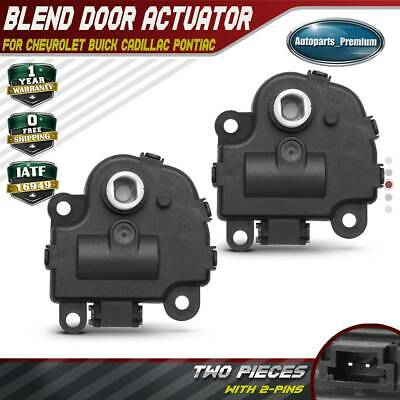 HVAC Air Door Actuator-Fit for 2005-2009 Buick 2004-2009 Cadillac 2004-2016 Chevrolet 2004-2008 Pontiac-604-108 10325404 10356910 15142056 15249473 15844096 15-73517 15-74122 Blend Door Actuator