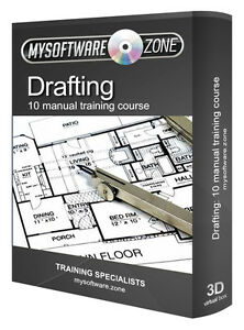 Learn drafting 10 manual training course cd drawing blueprint image is loading learn drafting 10 manual training course cd drawing malvernweather Gallery
