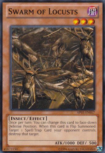 AP03-EN017 Swarm of Locusts Yugioh Unlimited Edition Near Mint En Common