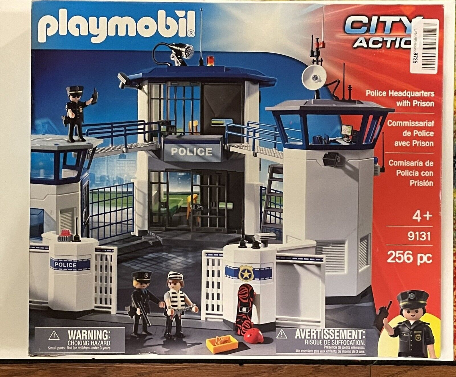 Playmobil Police Command Center with Prison