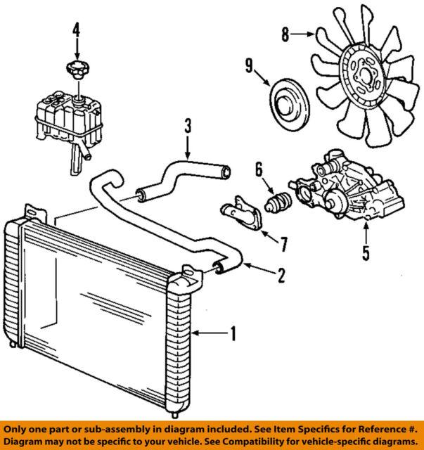 Chevy GMC Silverado Sierra Duramax Diesel Thermostat Housing Gasket OEM New