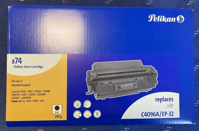 Pelikan Toner 874 C4096A/EP-32 schwarz (Für HP 2000/2100/2200)
