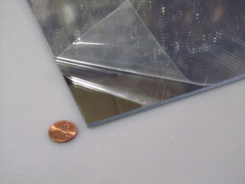 """Mirror Acrylic Plexiglass 12/"""" x  24/"""" 3//32/"""" .090/"""""""