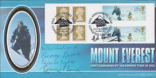 EVEREST 5 SIGNED FDC AFTAL Autograph COA ED HILLARY BAND LOWE WYLIE WESTMACOTT
