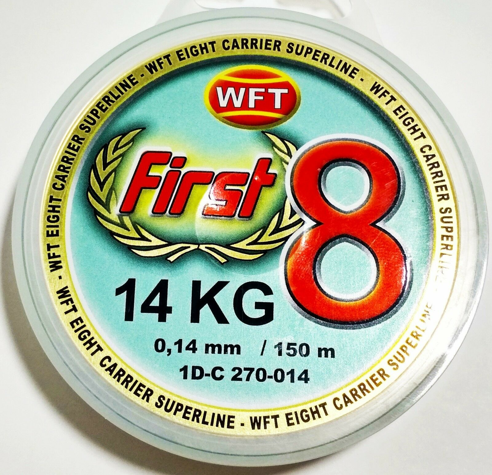 WFT First 8 14kg  0.14mm 150m color Soft Green  online retailers