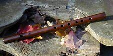 Fife Flute One-piece  American Black Walnut  Key of D   - 2 Octaves