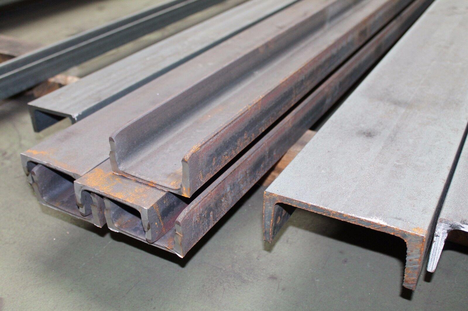 Formstahl UNP - roh U-Stahl Profilstahl Eisen Stahl U-Träger Stütze Sturz bis 6m