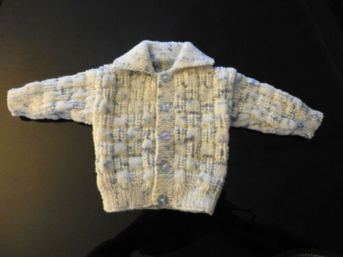 NOT AVAILABLE  CARDIGAN 3-6 Months Boys BLUE BEIGE D.K FREE DELIVERY