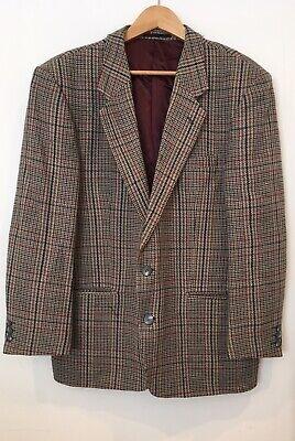 """Da Uomo Tweed Giacca In Tweed Circonferenza Petto 40"""" < Sw3199-mostra Il Titolo Originale"""