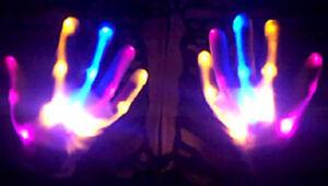 NEW-PINK-BLUE-ORANGE-XBone-L-E-D-Gloves-Rave-Burning-Wear-Man-Light-Up-Show-DJ