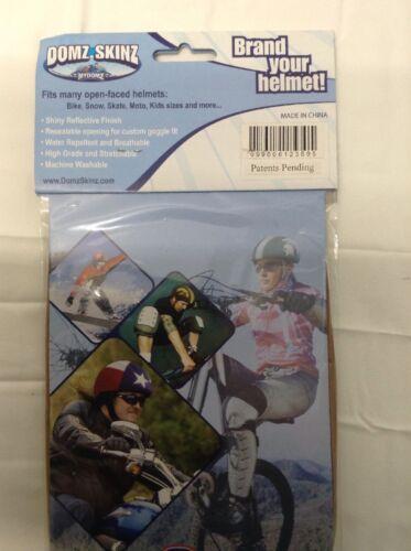 Georgia Tech Yellowjackets Cover Bike Skate Moto Helmet Skin Hat Cover.