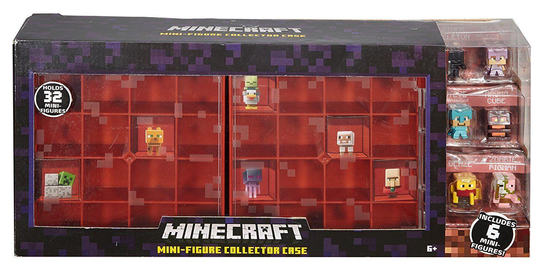 Minecraft Mini-Figure Nether Collector Case Accessory BRAND NEW