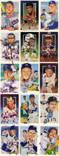 15 Different Legends Postcards MantleWilliamsAliRyan