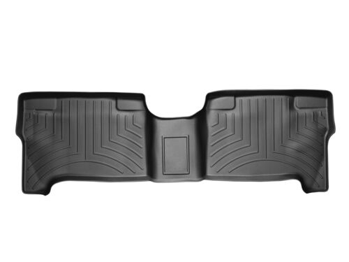 2nd Row WeatherTech FloorLiner for Toyota Tundra Double Cab Black 2004-2006