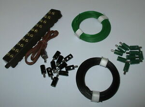 Plug-Litz-Wire-and-Distributor-Plate-with-Plug-New-Choice-of-Color-Moglich