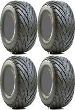 4 GBC Afterburn Street Force ATV Tires Set 2 Front 25x8-12 & 2 Rear 25x10-12