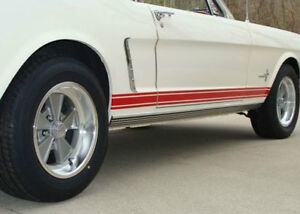 Image Is Loading Ford Mustang GT Stripes RED Coupe Fastback Convertible