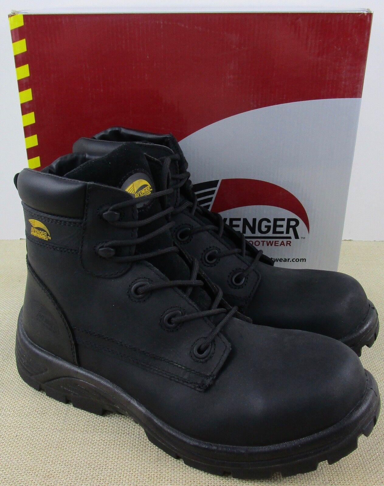 Avenger A7237 uomo neroes Leder  Verbundwerkstoff Zeh stivali  in vendita scontato del 70%
